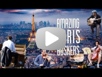 AMAZING PARIS BUSKERS.